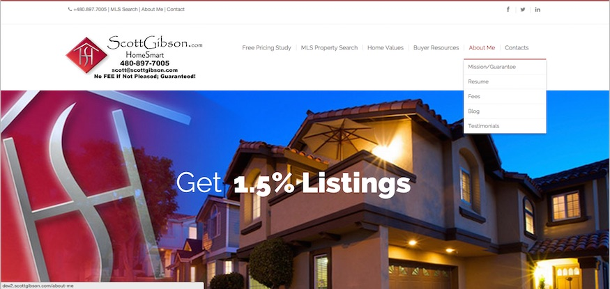 1.5% Listing Special - listing promo